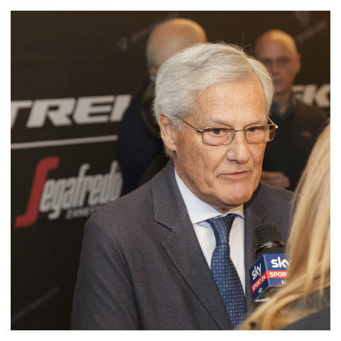 Massimo Zanetti @ TrekSegafredo press presentation