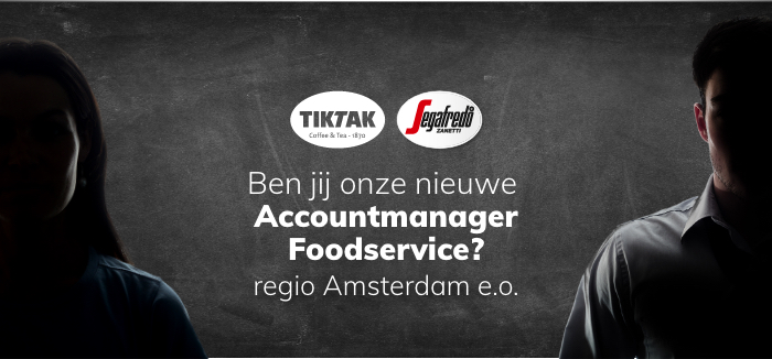 Vacature: accountmanager foodservice, regio Amsterdam